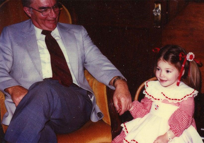 Christina and Grandfather