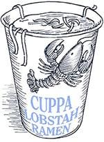 Cuppa Lobstah Ramen Illustration