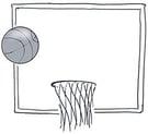 Basketball Hoop Illustration