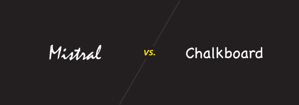 Mistral vs. Chalkboard