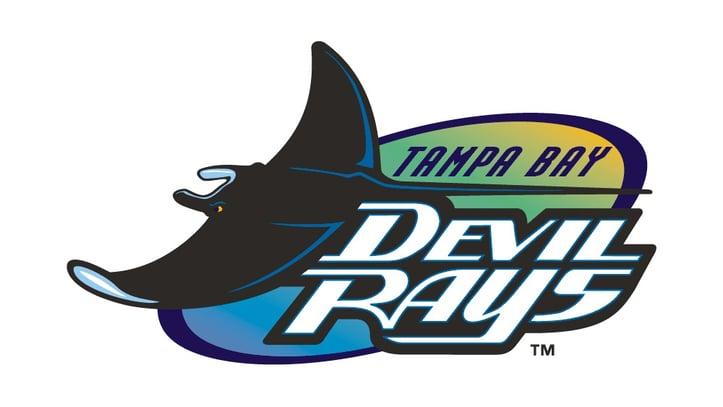 Tampa Bay Devil Rays Teal Logo