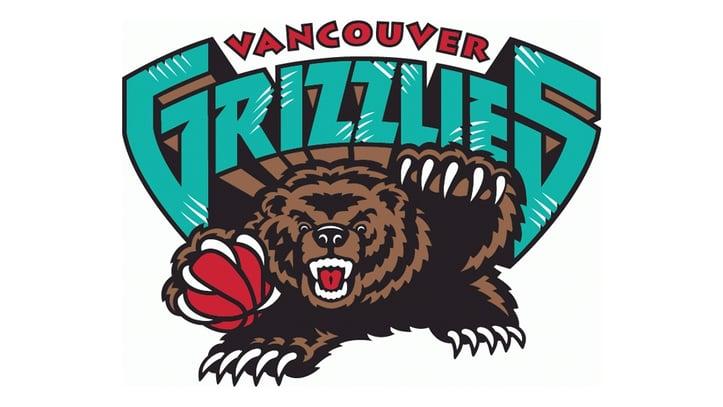 Vancouver Grizzlies Teal Logo