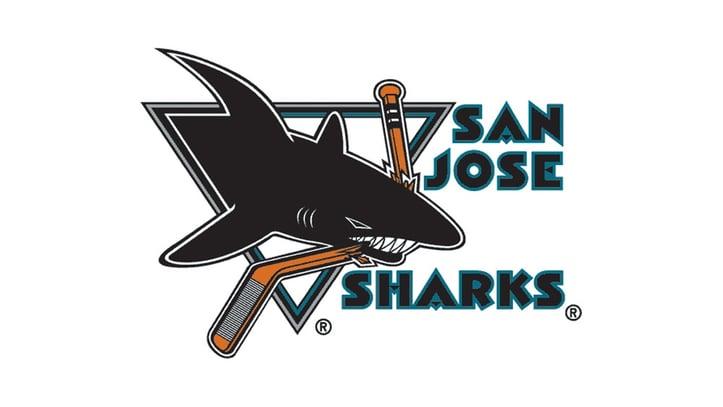 San Jose Sharks Teal Logo