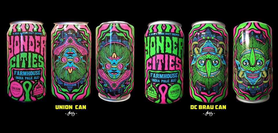 Union and DC Brau Yonder Cities Can