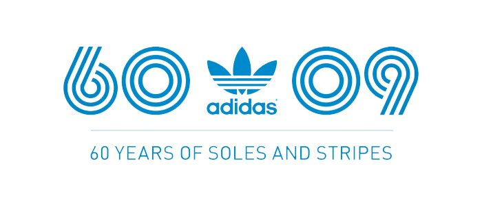 Adidas 60 2009 logo