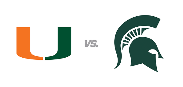 Miami vs. Michigan State