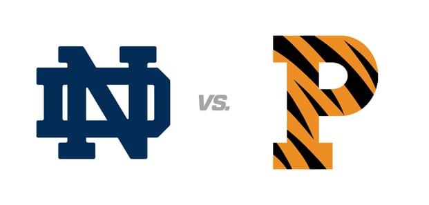 Notre Dame vs. Princeton