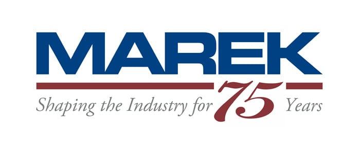 Marek 75 years logo