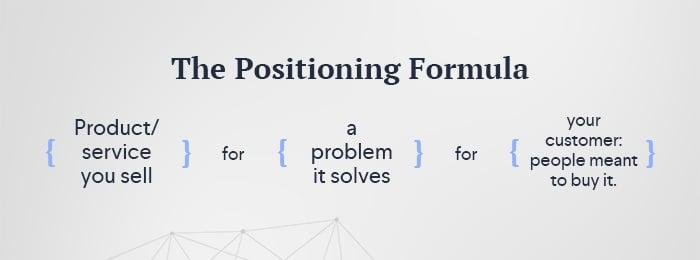 Positioning Formula