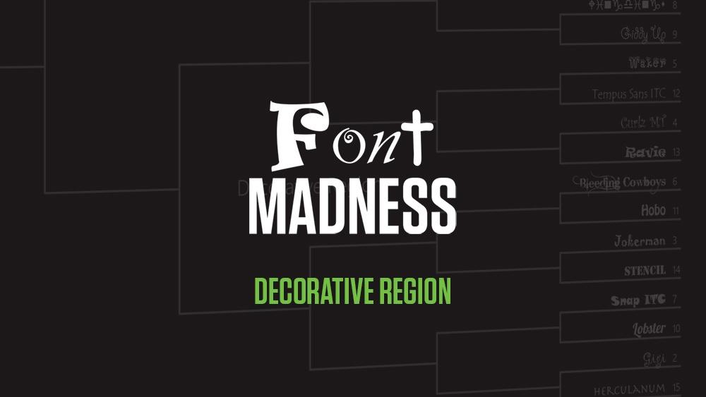 Font Madness Decorative Region
