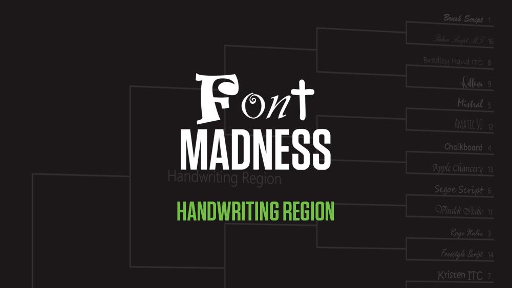 Font Madness Handwriting Region