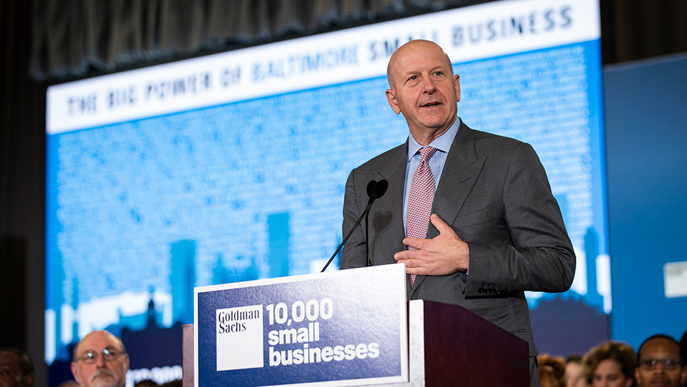 David M. Solomon, Chairman and CEO, Goldman Sachs