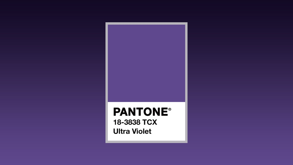 2018 Pantone Color of the Year: Ultra Violet