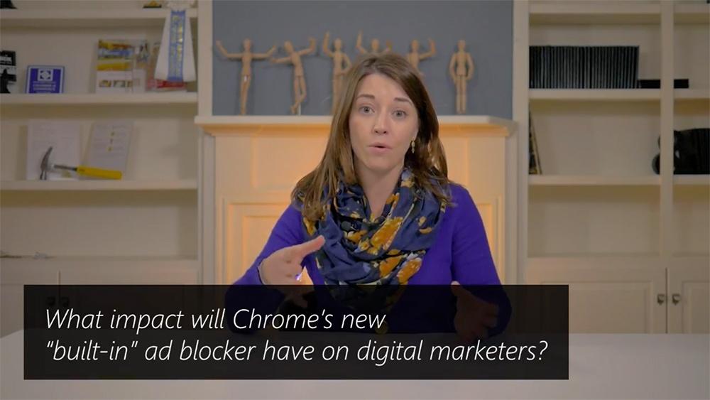 Marketing Monday Q&A: Google Chrome Update