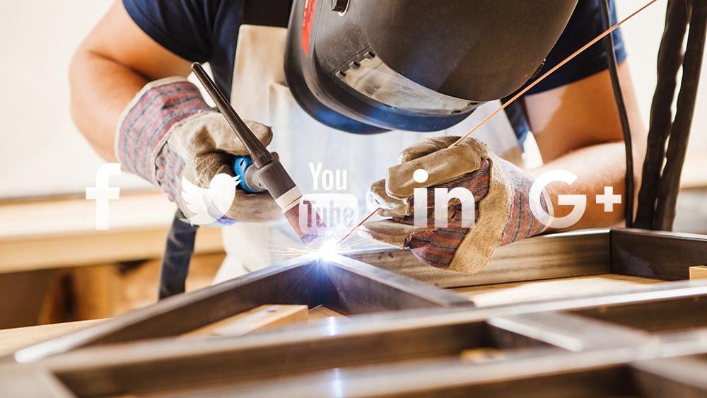 Metal Fabrication Shop Social Media