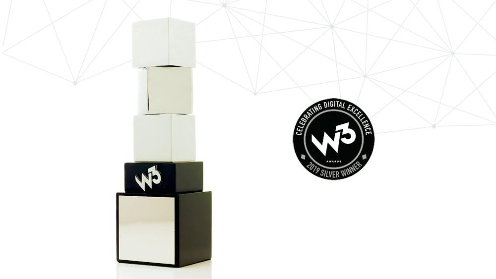 Illumine8 wins silver W³ award for web design